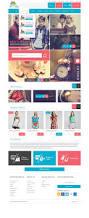 modern modular gift shop e commerce website psd design