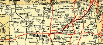 map us highway route 66 oklahoma route 66 maps