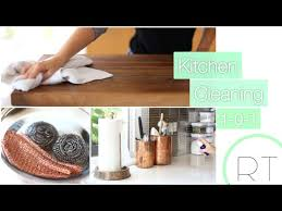 cleaning tips for kitchen my kitchen cleaning tips 101 natural easy youtube