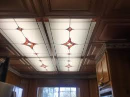 decorative ceiling light panels stained glass ceiling light panels 28 images vining foliage