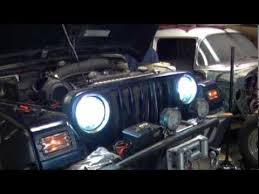 jeep wrangler hid kit jeep hid conversion