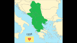 Map Of Serbia Map Of Serbian Empire 1346 1371 Youtube