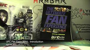 the 2016 ufc fan expo introduction tickets and the past stuff