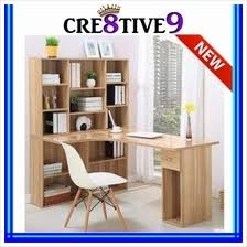 Computer Desk And Bookcase Combination Computer Desk Price Harga In Malaysia Lelong
