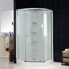 38 Neo Angle Shower Door Dreamwerks 38 In X 38 In X 78 In Neo Angle Mosaic Shower Kit