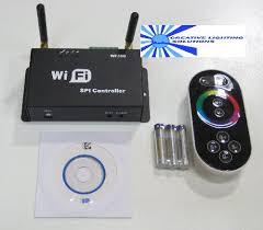 wifi led digital light controller 12vdc input supports