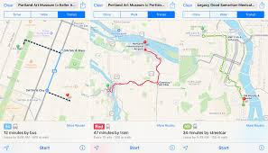 Map Portland by Apple Maps Expands Transit Data To Portland Oregon Mac Rumors