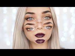 trippy double vision halloween makeup tutorial halloween makeup