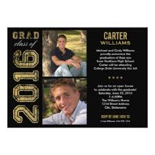 2016 graduation invitations announcements zazzle