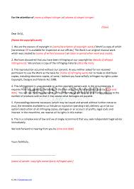 Legal Sample Letter by Letter Of Claim Template Copyright Infringement