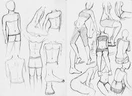 anatomy practice sketches by sajophoe on deviantart