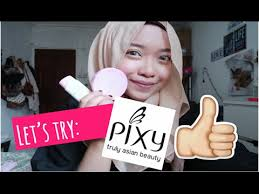 Bedak Pixy Compact Powder Finish let s try pixy bb finish compact powder