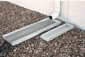 Decorative Splash Block Gutter Splash Guard Concrete Splash Block Concrete Splash Blocks