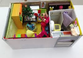 how to make a shoebox dollhouse youtube
