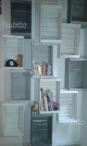 librerie bianche cassette legno faggio frutta bianche per librerie arredamento e