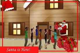super santa christmas free gift delivery game android apps on