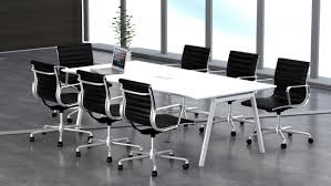 Metal Conference Table Buy Fad Conference Table With Wire Management U0026 Metal Leg L180 X