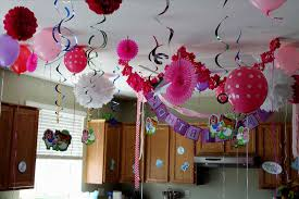 Wall Decoration With Balloons by Wall Decoration Ideas For Girls Decoration At Home Ideas