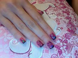 real madrid and barcelona 2012 cute hello kitty nail designs