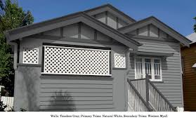 Home Colour Schemes Exterior - timeless grey walls western myall secondary trim and neutral