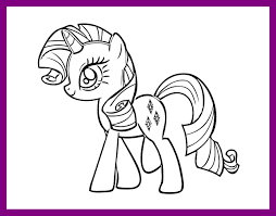 my little pony birthday coloring page best printable my little pony coloring pages for kids pict horse