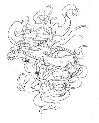 oni mask tattoo designs photos pictures and sketches tattoo