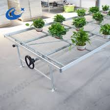 Metal Greenhouse Benches Steel Rolling Benches Steel Rolling Benches Suppliers And