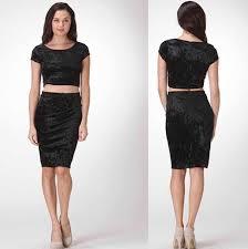 velvet pencil skirt fashion skirts