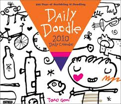 doodle start daily doodle calendar inspiring for br a therapeutic