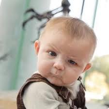 Baby Meme Generator - skeptical baby meme generator