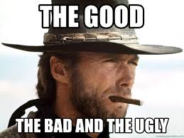 The Good The Bad And The Ugly Meme - the good the bad and the ugly clint eastwood smoking meme