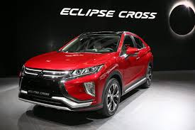 mitsubishi eclipse concept 2018 mitsubishi eclipse cross brings evo tech to geneva 53 photos