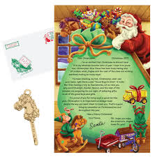 personalized letter from santa santa letter miles kimball