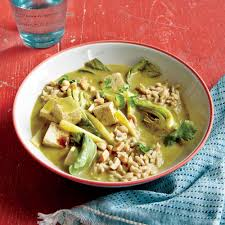 peanuts thanksgiving dinner tofu curry with bok choy and peanuts recipe myrecipes