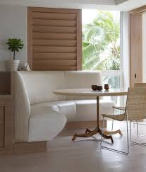 Dining Table With Bench With Back Curved Dining Banquette Medium Size Of Banquette Bench Seating