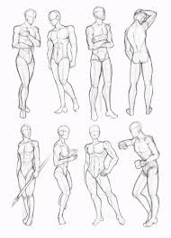 male standing poses drawing cerca con google art references