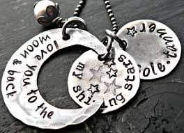 I Love You To The Moon And Back Personalized Necklace 54 Best I Love You To The Moon And Back Gifts Images On Pinterest