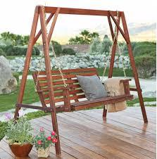 Patio Swing Folds Into Bed 35 Swingin U0027 Backyard Swing Ideas