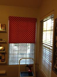 no sew fabric roller shade