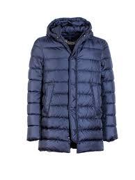 herno herno down jacket blue men s down jackets italist