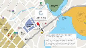 Bugis Junction Floor Plan by Citygate