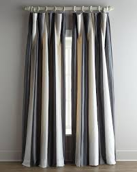 Black And Gray Curtains Silks Hton Black White Curtains