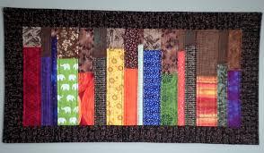 Bookshelf Quilt Pattern Persimon Dreams My Quilts
