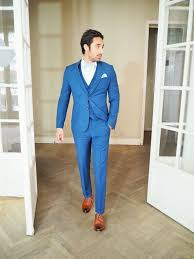 costume bleu mariage costume bleu electrique mariage toulouse