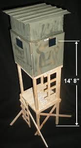 Deer Hunting Tower Blinds Tower Deer Hunting Stand Plans