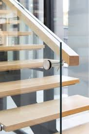 Fusion Banister Stair Staircase Commercial Non Slip Treads Tasmanian Oak
