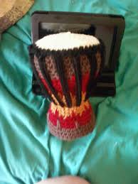 drum knitting pattern crocheted djembe drum drums crochet and free pattern