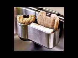 Get NEW StickerNizer NoSuctionCup Kitchen Sink Sponge Holder - Kitchen sink sponge holder