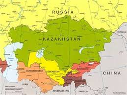 middle east map kazakhstan will central asia follow s exle world ebr