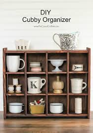 Pottery Barn Inspired Furniture Diy Cubby Organizer Pottery Barn Inspired Hometalk